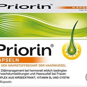 Priorin® complément alimentaire pour la chute des cheveux | 120 capsules